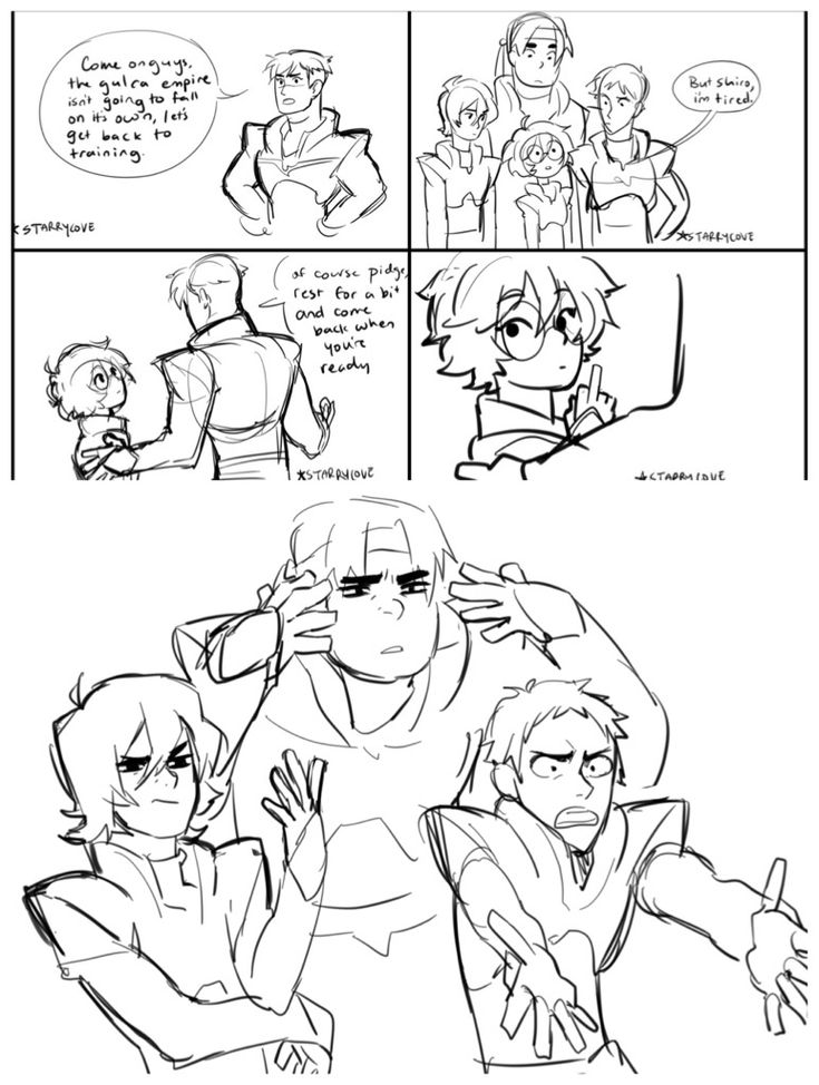 Pidge you lil shit I love you. Also check out Keith with the BeifongHand™