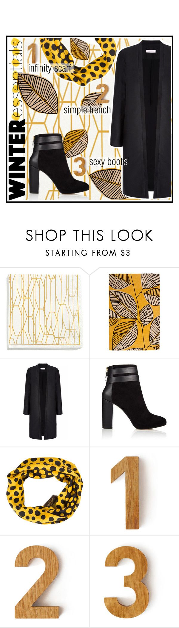 """""""Winter Essentials~#1"""" by caroline-brazeau ❤ liked on Polyvore featuring H&M, MissPrint, Coye Nokes, Louis Vuitton and Another Country"""