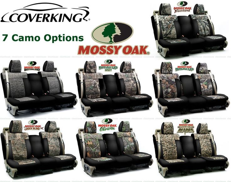 Coverking Mossy Oak Custom Seat Covers For Ford F 150 F