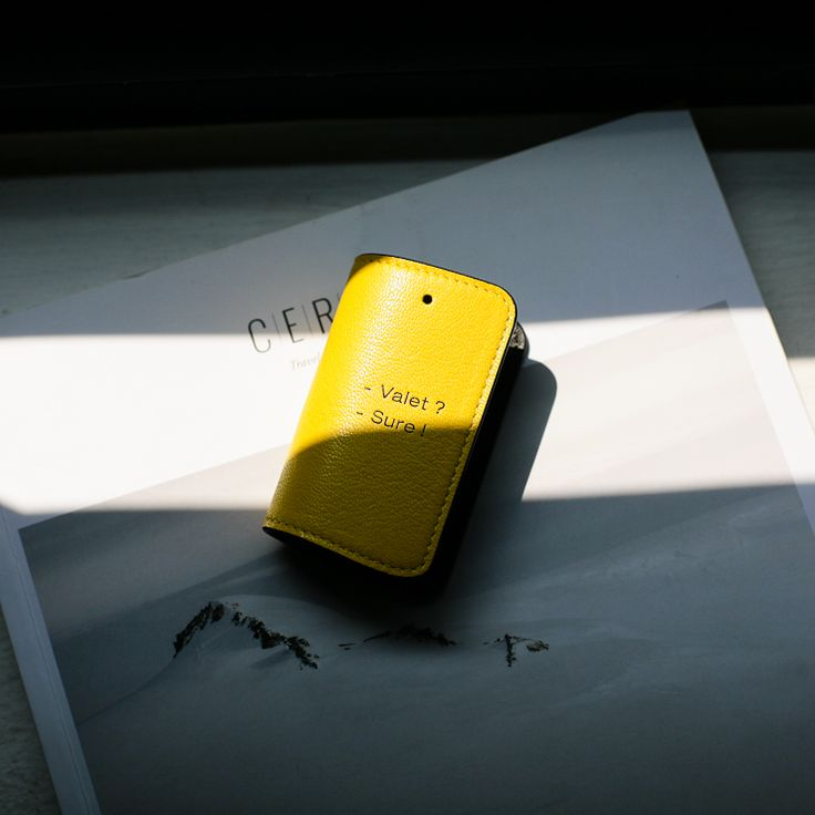 A tough guy's smartkey case.  #gott #yellow #luccica #l32 #newyork