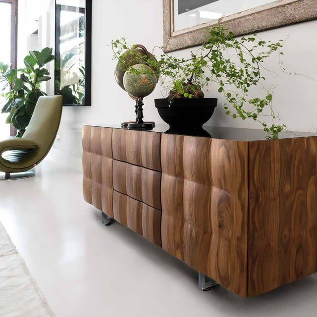 25 best ideas about walnut sideboard on pinterest Walnut effect living room furniture