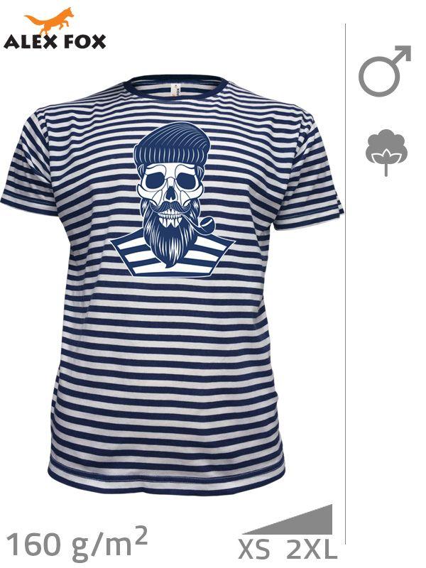 """193 Tričko pruhované pánské """"Námořník"""""""