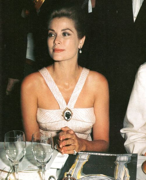 HSH Princess Grace of Monaco at the Monte-Carlo Sporting Club in November 1963