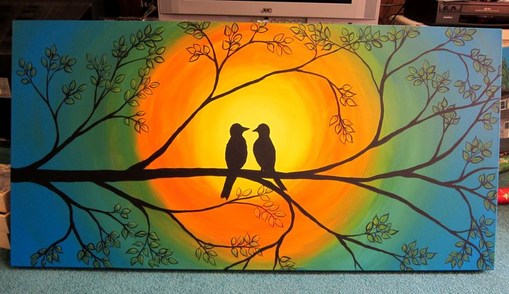 Canvas painting ideas for beginners bing images crafts for Cool canvas ideas