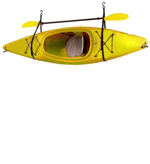 Kayak / Canoe Storage and Portage Hang 1 Deluxe Strap Storage System