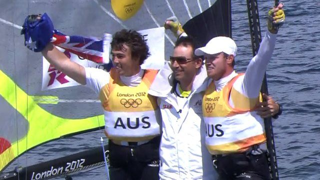 Olympics sailing: Australia win men's 49er gold, GB finish fifth