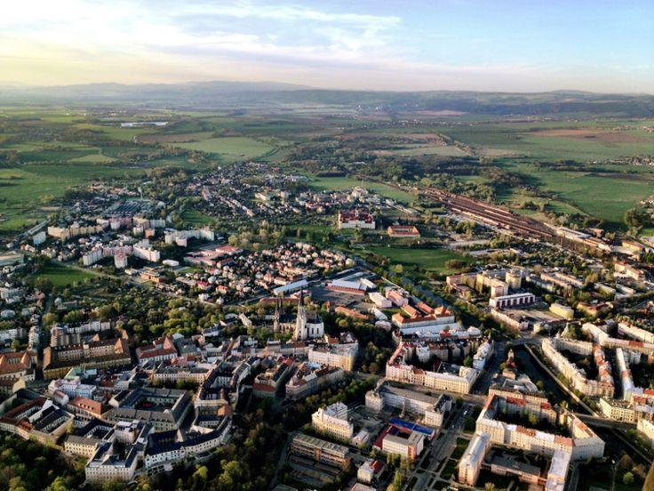 Let balonem Olomouc