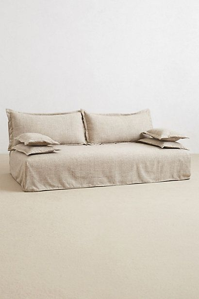 Saranda Sofa #anthropologie something similar for MB sitting room this one is too big but love the look