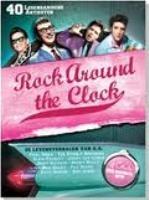 Rock Around The Clock - Boek met 4 CD's - R. Wams  - ISBN 9789077102350 - € 14,00  In dit unieke muziekdocument wordt het leven van veertig legendarische artiesten uit de hoogtijdagen van de Rock & Roll beschreven. Zij zijn de grondleggers van de hedendaagse populaire muziek en hun muziek is nog steeds op radiostations over de hele wereld te horen. BESTELLEN BIJ TOPBOOKS OF VERDER LEZEN? KLIK OP BOVENSTAANDE FOTO!