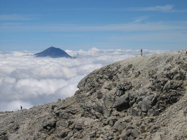 Hiked Volcan Tajamulco, Guatemala in Oct 2012