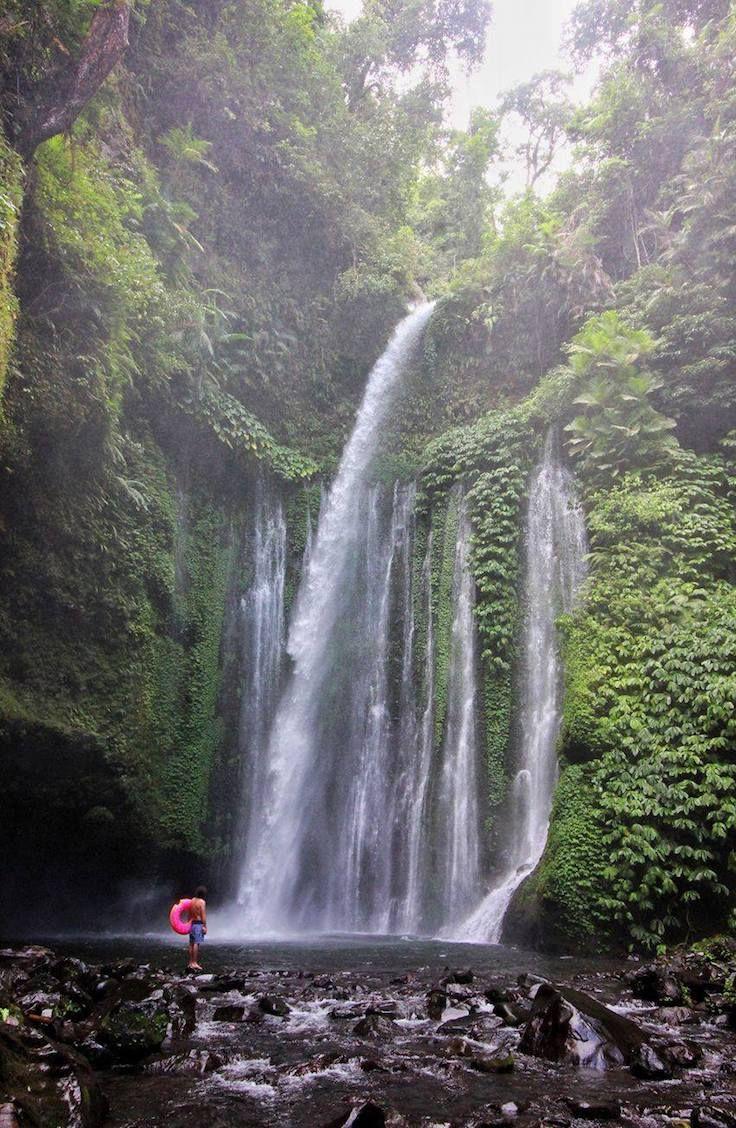 Tiu Kelep Waterfall, Indonesia: GUIDE