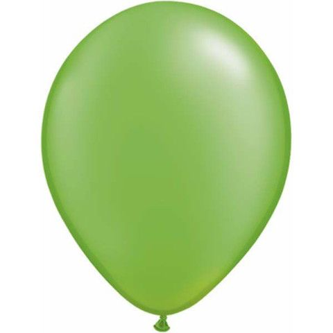Pearl Lime Green Latex Balloons | Party Kit n Kaboodle Theme Party Shop