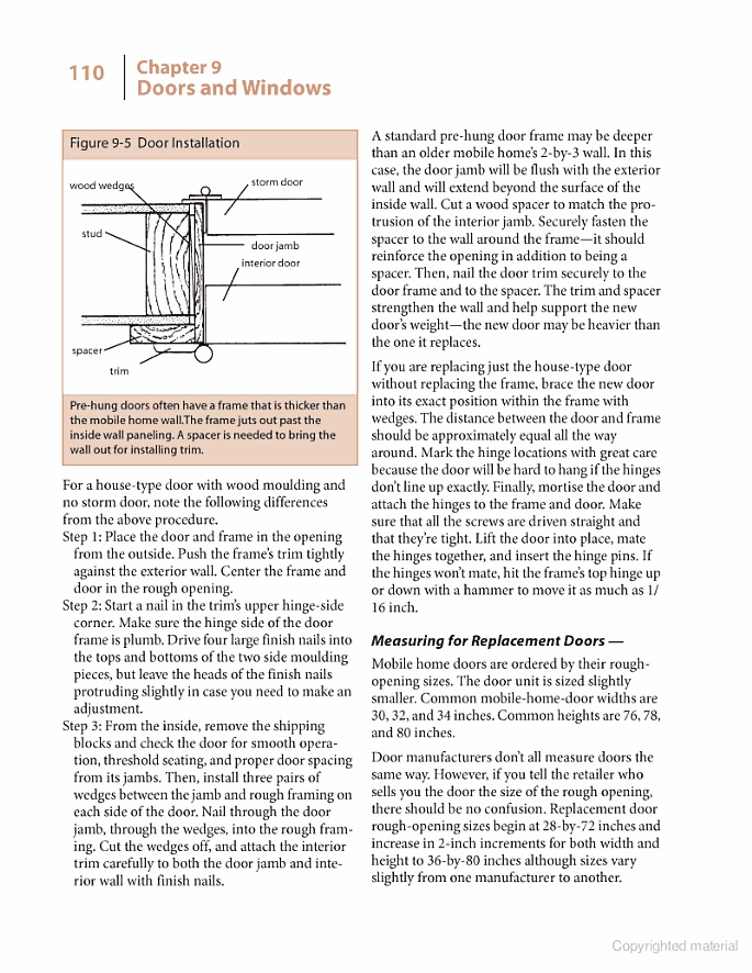 Your Mobile Home: Energy and Repair Guide for Manufactured Housing - John Krigger - Google Books