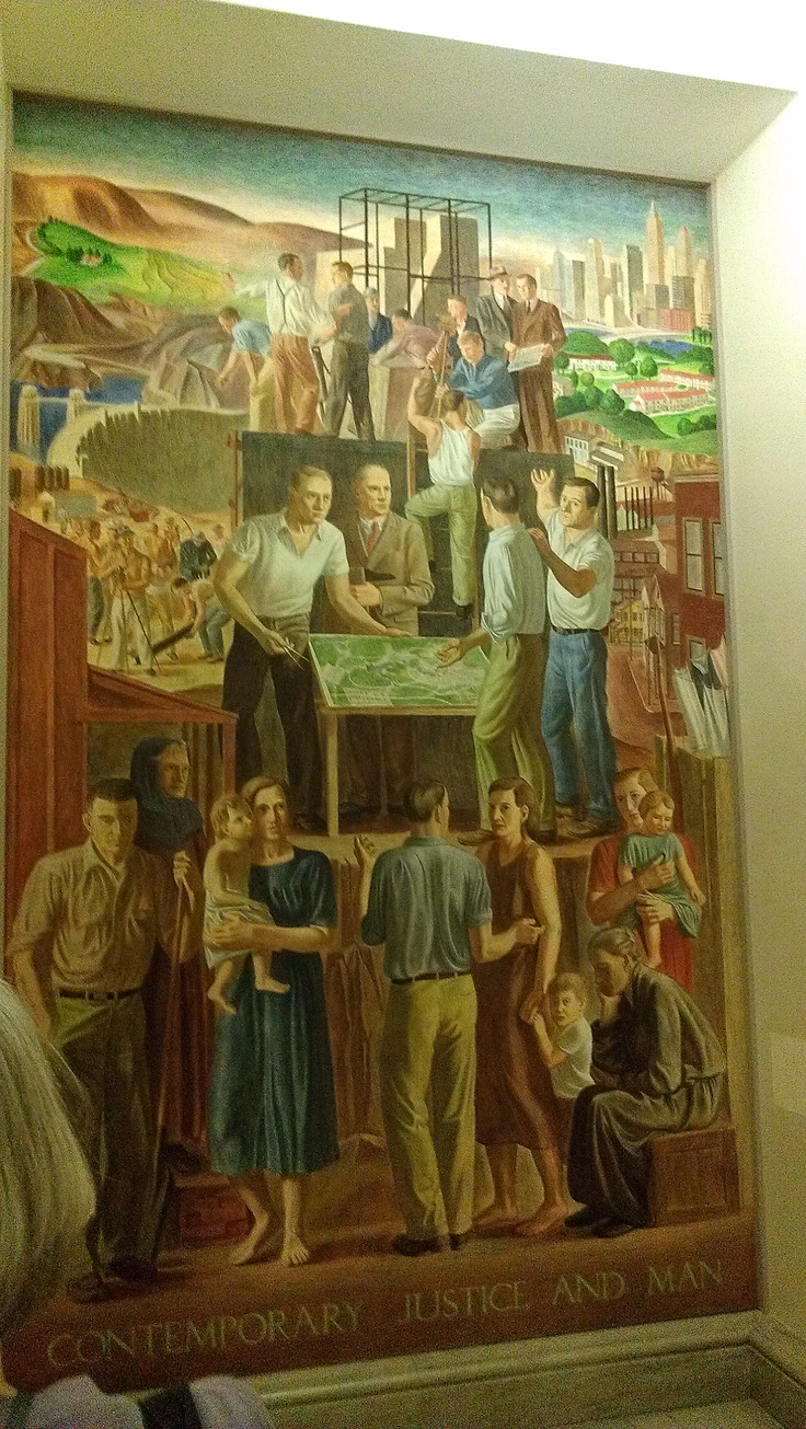 172 best us mural painting from 1890 to 1940 images on pinterest contemporary justice and man by john ballator c tempera on canvas at the doj amipublicfo Choice Image