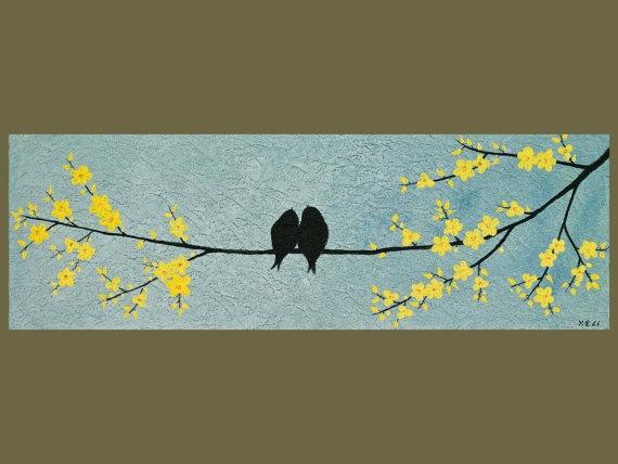 Bird paintings modern - photo#25