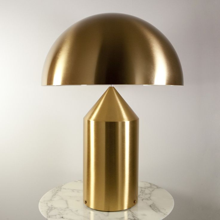 243 best modern table lamps images on pinterest modern table lamps atollo gold table lamp aloadofball Choice Image