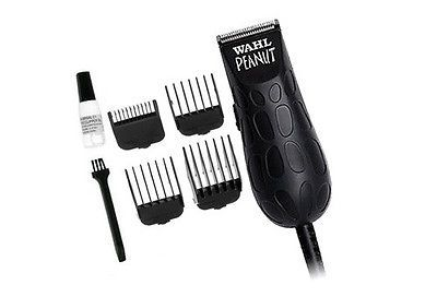 New Wahl Peanut 8655 Trimmer Professional Salon Clipper Black Haircut Grooming