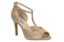 Curtain Fizz, Champagne, Womens Smart Sandals