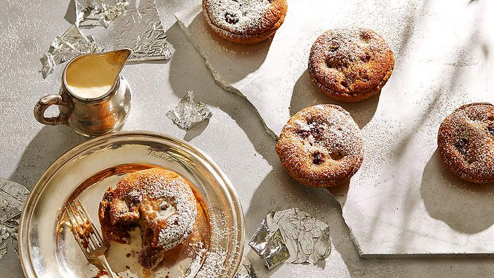 O Tama Carey's morello cherry, almond and amaretto tarts. Check out the seasonal cook's column for recipes and tips.