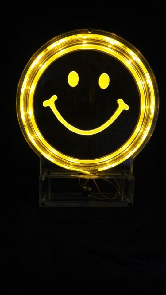 LED Smiley Face Light.....So much Fun