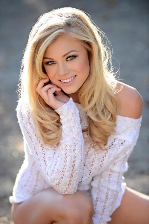 blondes women celebrity brown eyes playboy magazine sara