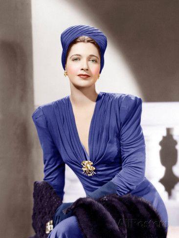 Kay Francis, ca. 1940s Photo at AllPosters.com