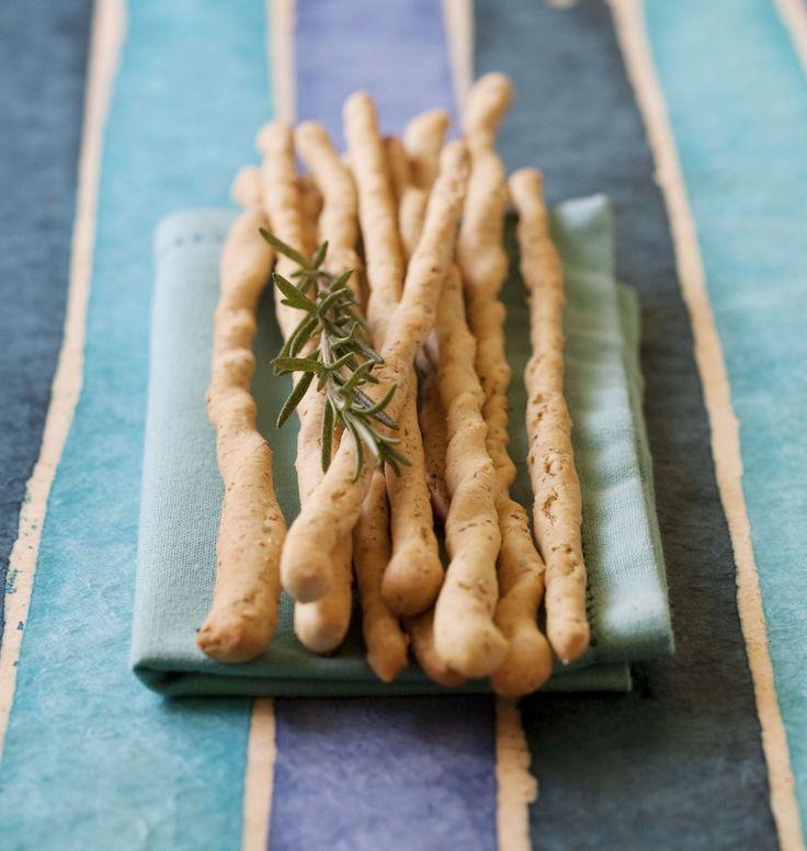 Gressins à l'épeautre et au romarin (grissini) - les meilleures recettes de cuisine d'Ôdélices