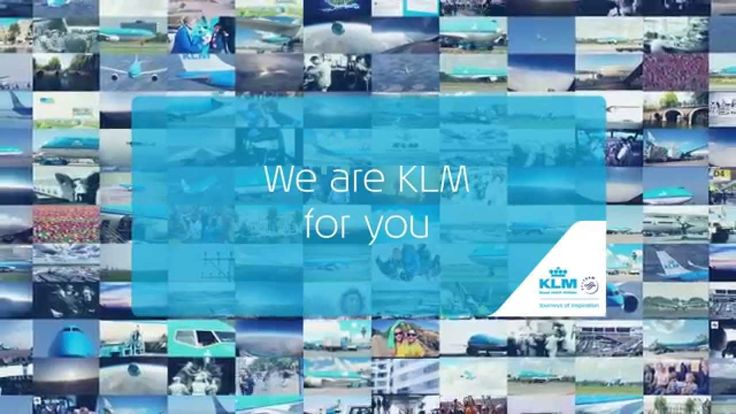 """See - KLM in our life: """"We Are KLM For You – KLM 95 years"""""""
