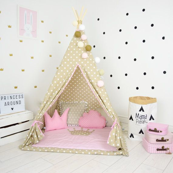 NOW YOU HAVE A CHANCE TO PURCHASE TEEPEE SET WITH MAGIC, ILLUMINATING LAMP AND ENJOY READING BOOKS WITH YOUR KIDS! CHECK OUT THE PICTURES!  Teepee set takes you to the wonderland of fun, joy and happiness. It can be a place for morning tea with mum, daily play with friends and evening books reading with dad. Playing in teepee developes kids imagination and creativity.  TEEPEE IS SPECIALLY DESIGNED TO BE SAFE AND STABLE!  WILL NEVER FALL ON YOUR KID! We are first company on the market who…