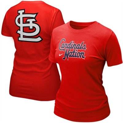 I need another Cardinals shirt like I need a hole in my head. lol.