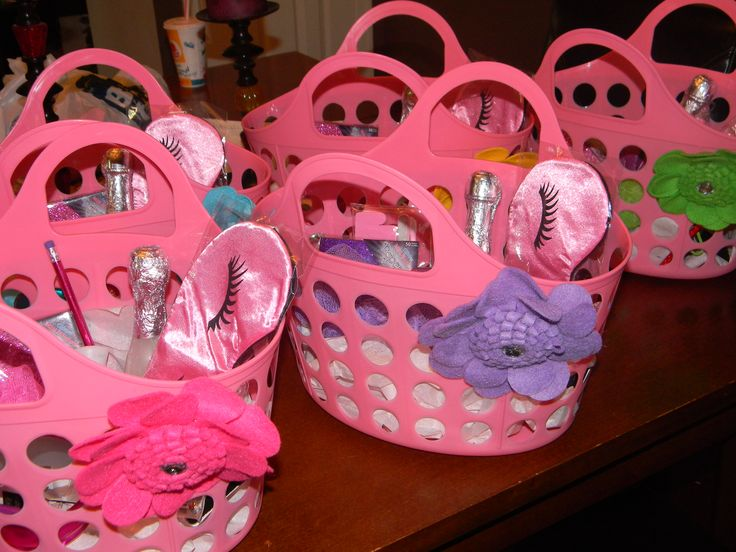 spa party gift baskets