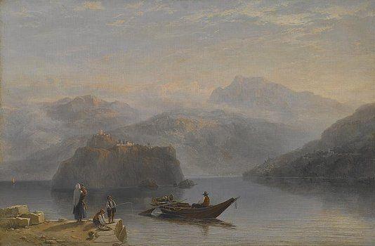 James Baker Pyne - Lago Maggiore