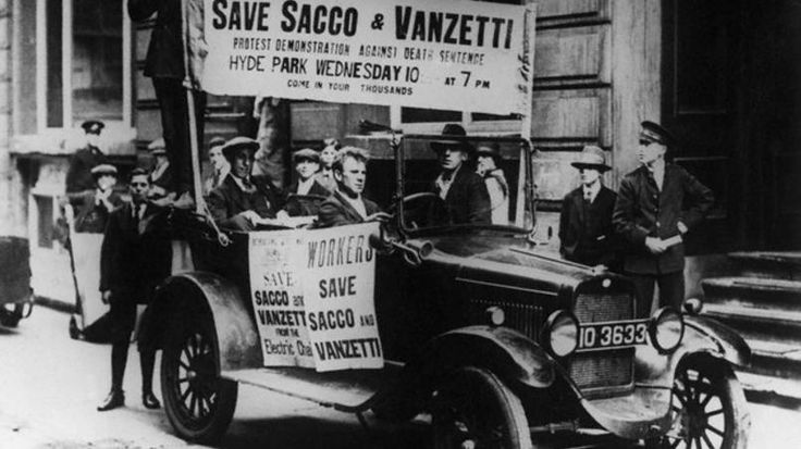 an analysis of the sacco and vanetti case in massauchusetts Robert d'attilio sacco-vanzetti caseat 3:00 pm on 15 april 1920, a paymaster and his guard were carrying a factory payroll of $15,776 through the main street of south braintree, massachusetts, a small industrial town south of boston.