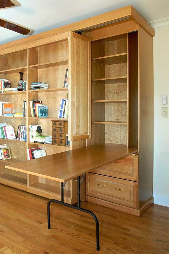 Ca C F C Adbfc C A Murphy Table Murphy Bed on Small Office Work Diagram