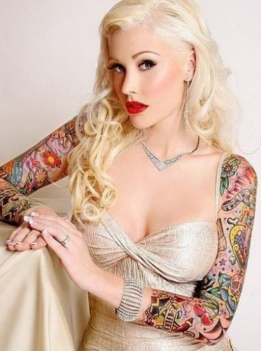 141 best images about pinups modern and vintage on pinterest rockabilly models and photographs - Tattooed pin up models ...