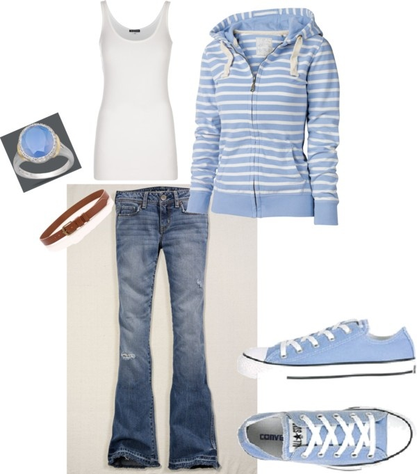 must admit... as much as I love summer, I'm getting a teeny bit excited for jeans and sweatshirt weather! :)