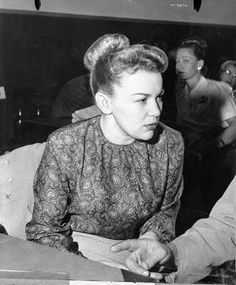 Barbara Graham was executed in the gas chamber at San Quentin State Prison on June 3, 1955 for the beating and suffocation of a 64 year old woman along with two convicted accomplices. Actress Susan Hayward won the Best Actress Academy Award for playing Graham in the 1958 movie, I Want To Live. She became known as Bloody Babs by the press.: