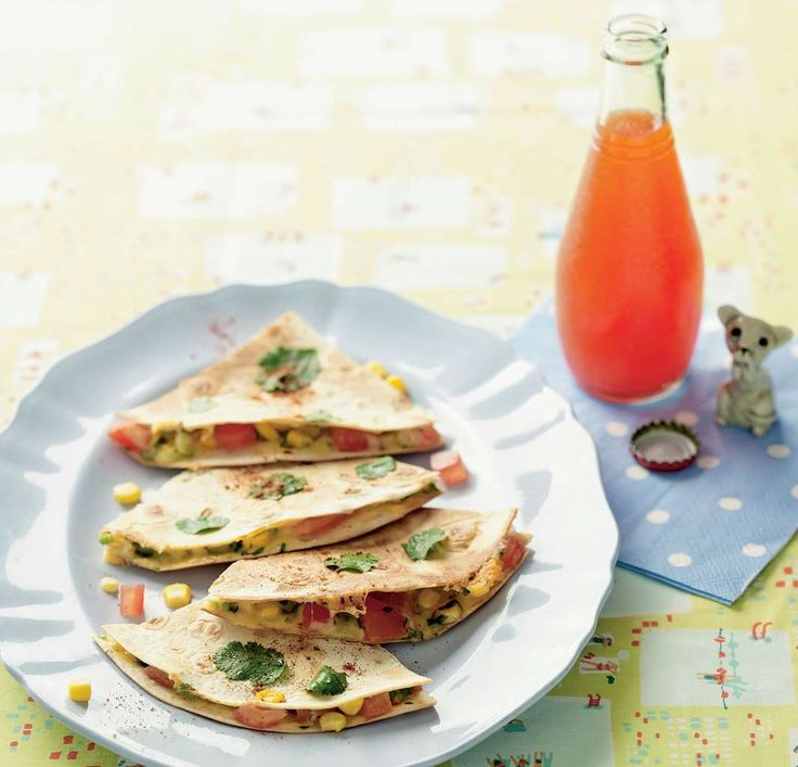 Cheesy quesadillas by Sabrina Parrini from Half-Hour Hungries | Cooked