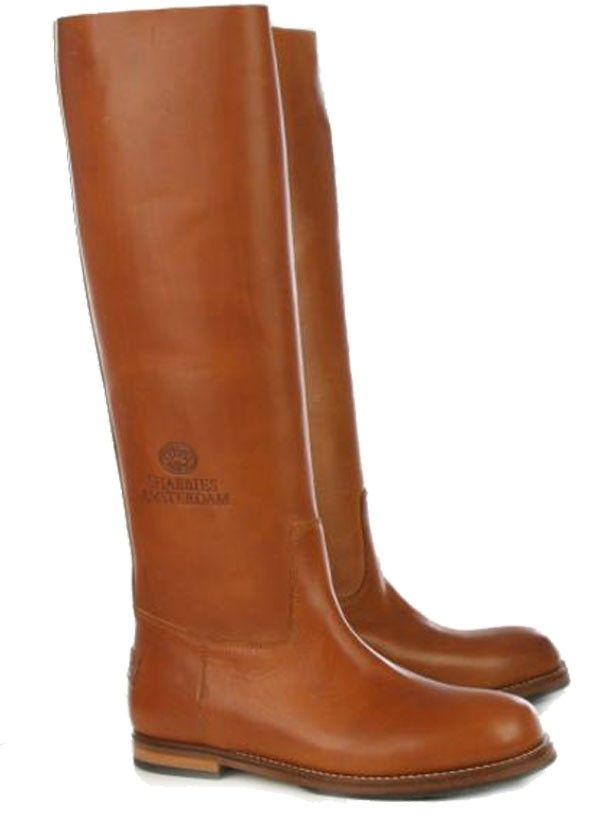 Shabbies Amsterdam hoge laarzen 108004 cognac online kopen ...