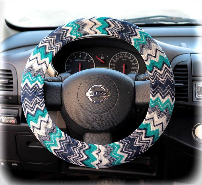 Steering-wheel-cover-for-wheel-car-accessories-Zigzag,-Chevron-print