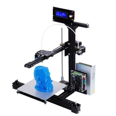 FLSUN Auto-leveling DIY 3D Printer Kit US PLUG – BLACK