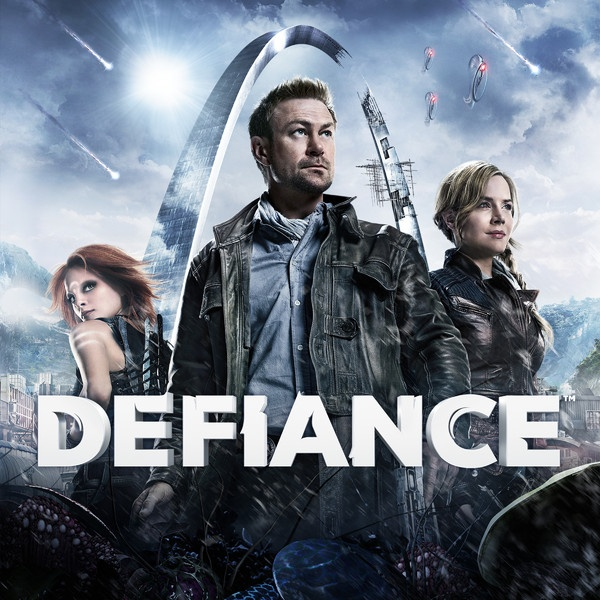 Defiance - new tv show on the scifi channel. Looks exciting.