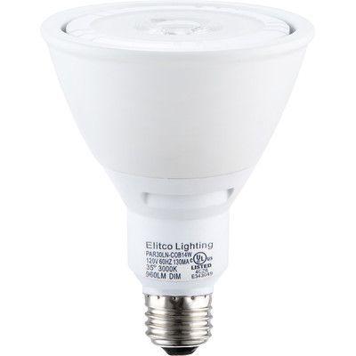 Elegant Lighting E26/Medium LED Light Bulb Wattage: 22W, Bulb Temperature: 4100K