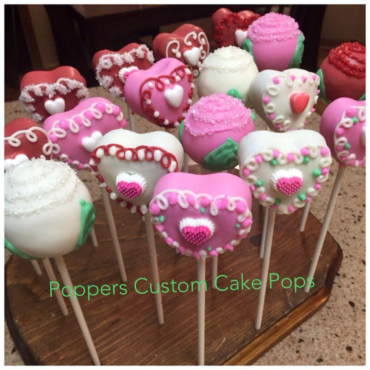 Valentine Cake Pops Pinterest