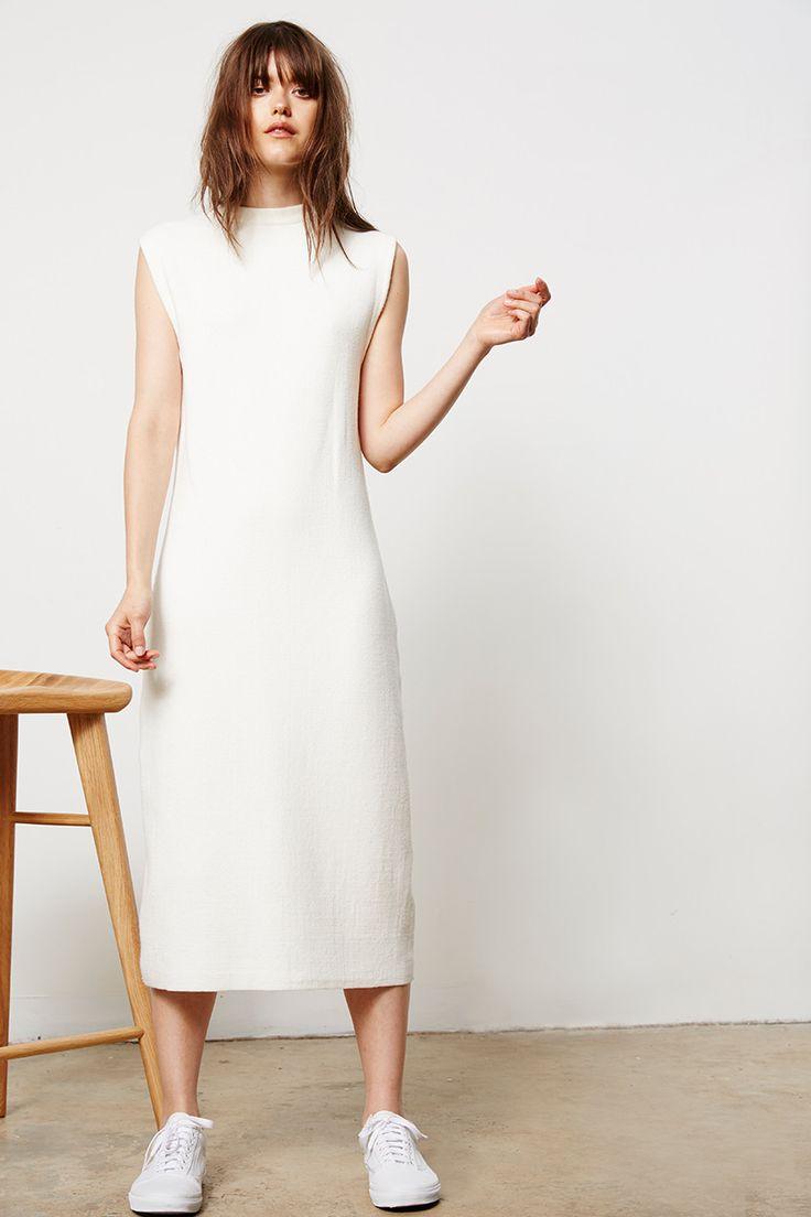 Friend of Audrey  - Long Zip Knit Dress