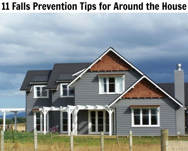 September is national falls prevention awareness month. A majority of falls take place in the comfort and security of home these tips will come in handy.