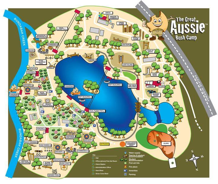 Great Aussie Tea Bush Gardens Camp
