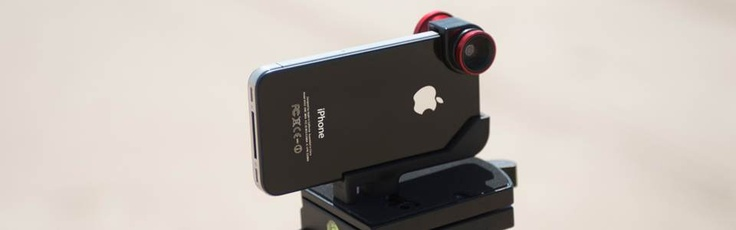 Single olloclip iPhone 4 lens system: Fisheye, Wide-Angle, Macro. Color: Red $69.99