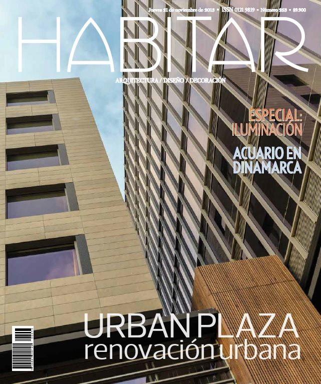 Especial iluminación. Urban plaza renovación urbana. Edición 253. Noviembre 2013.
