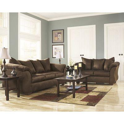 Flash Furniture Darcy 2 Piece Signature Design By Ashley Living Room Set Reviews Wayfair